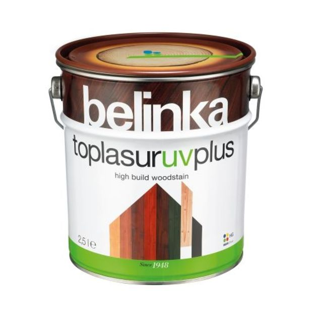 Алкиден лак Belinka Toplasur UV plus, орех [1]
